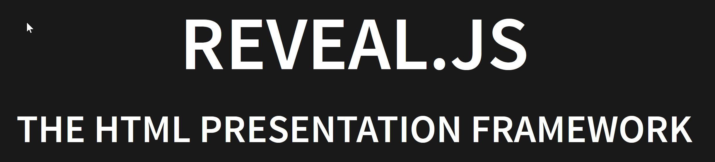 reveal.js logo