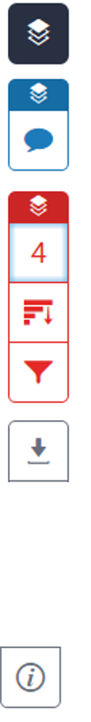 a column of icons from the Turnitin Feedback Studio navigation pane