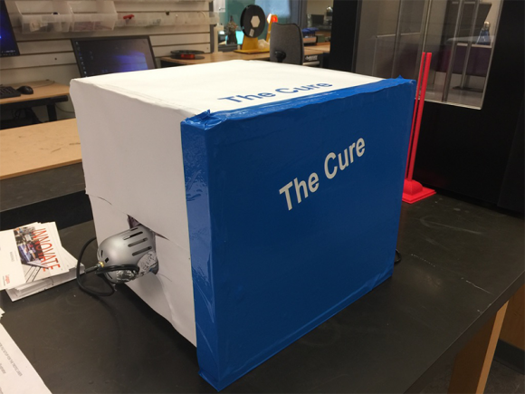The Cure box
