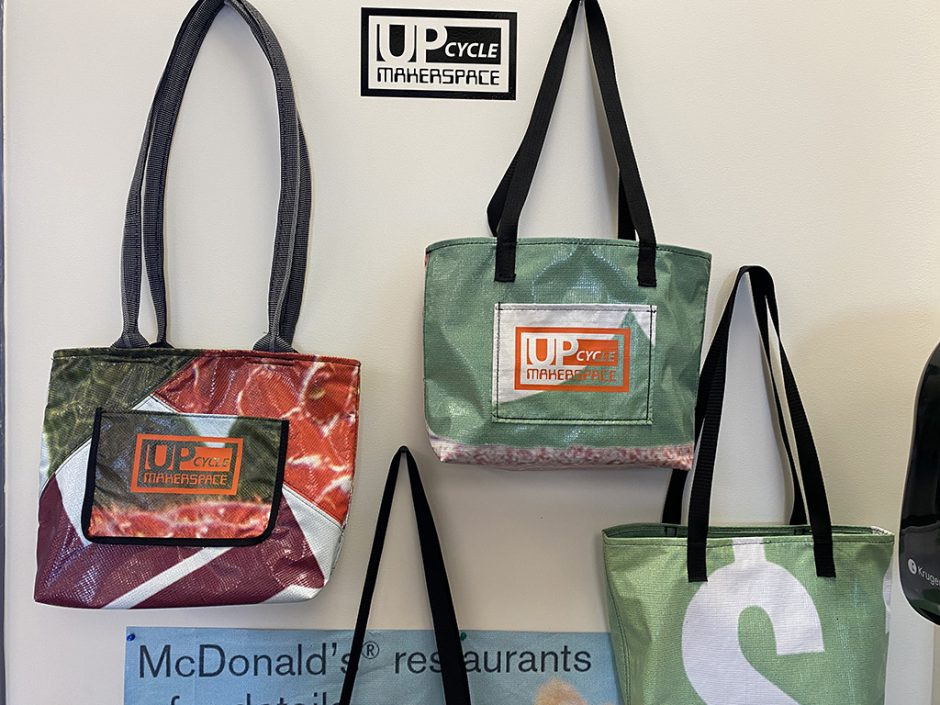 Up Cycle Tote Bags