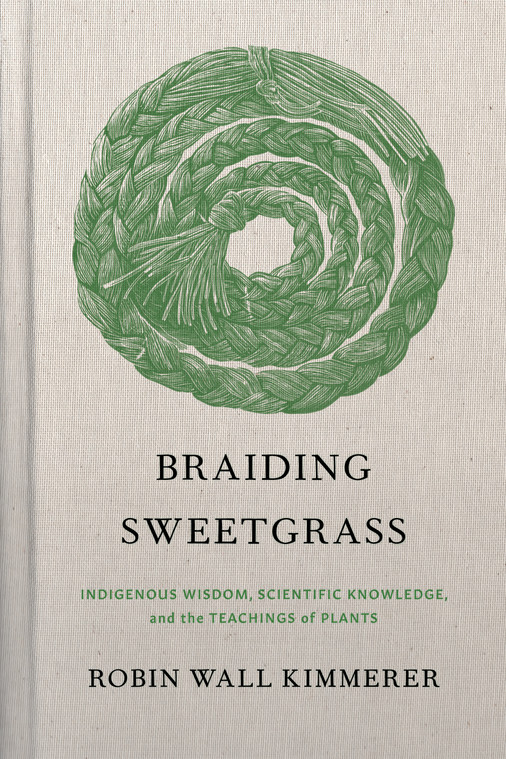 Link to the Book Braiding Sweetgrass by Robin Wall Kimmerer