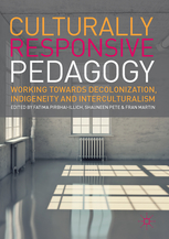 Link to the book Culturally Responsive Pedagogy edited by Fatima Pirbhai-Illich, Shauneen Pete and Fran Martin